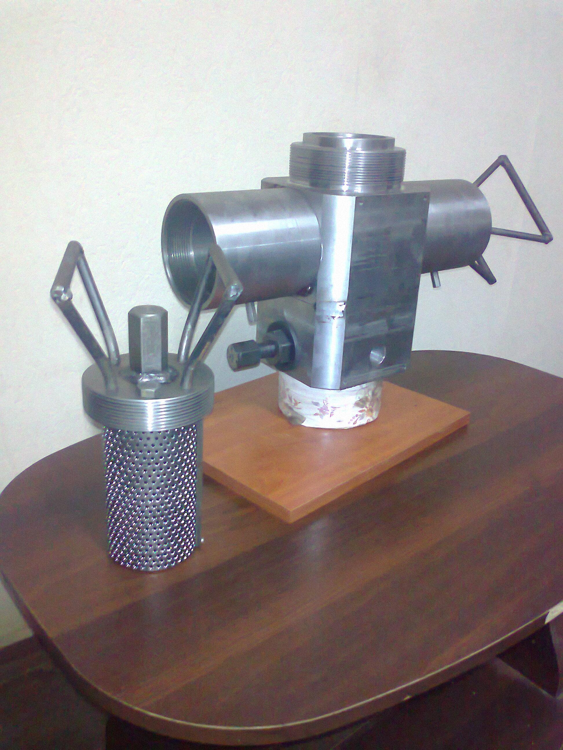 Фильтр 3-го поколения ( S фильтрации 2х44000 мм2)